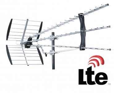 57 elemente dvb t2 antenne mit lte for Regler antenne tnt exterieur